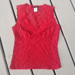 M red lace top by Hot Kiss